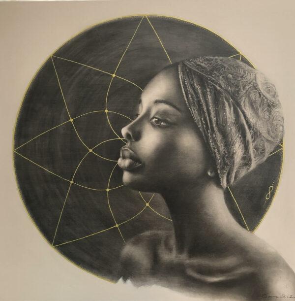Kioni (She Who Sees Beyond in Swahili), 2019