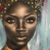 female portraits African painting Sara Sian Ulwazi