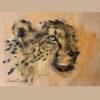 Wildlife art Leopard Sara Sian