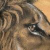 African symbols lion